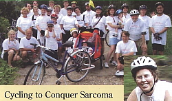 Cycling to Conquer Sarcoma