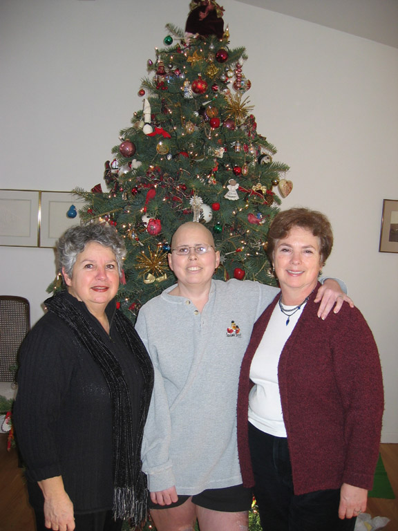 Me, Mom and my Auntie (Eva Mae, my Mom's sister)